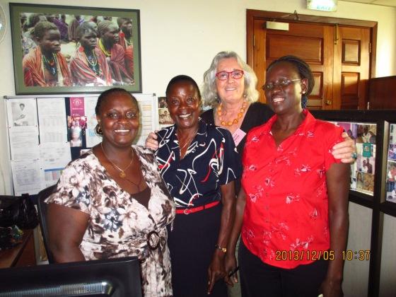 UNICEF kolleager i Uganda